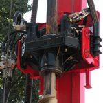 Perfuratriz hélice contínua Minas Gerais caixa rotativa